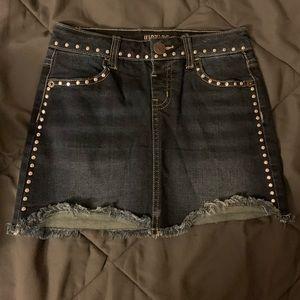 Girl's studded skirt